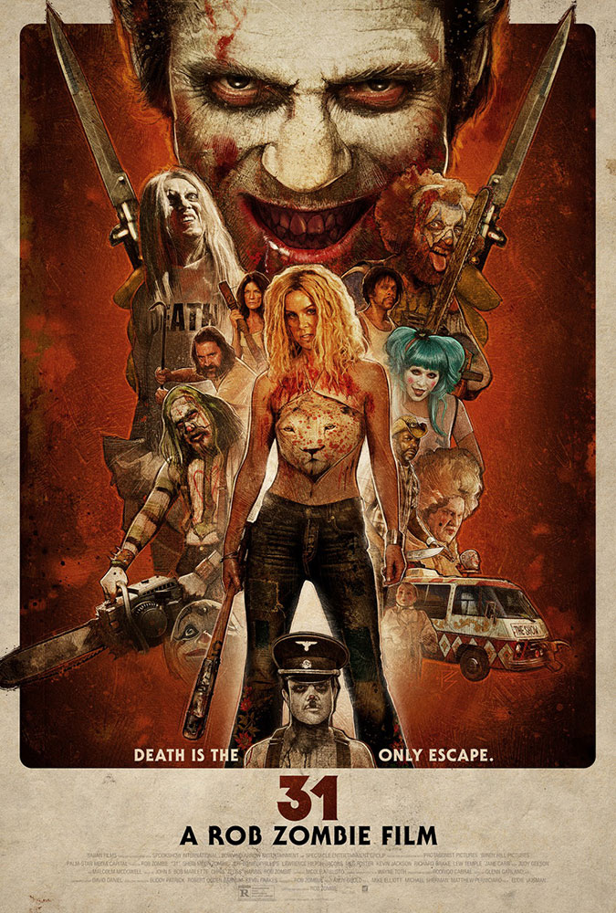 Severed Cinema review of Rob Zombie's 31 from Lionsgate