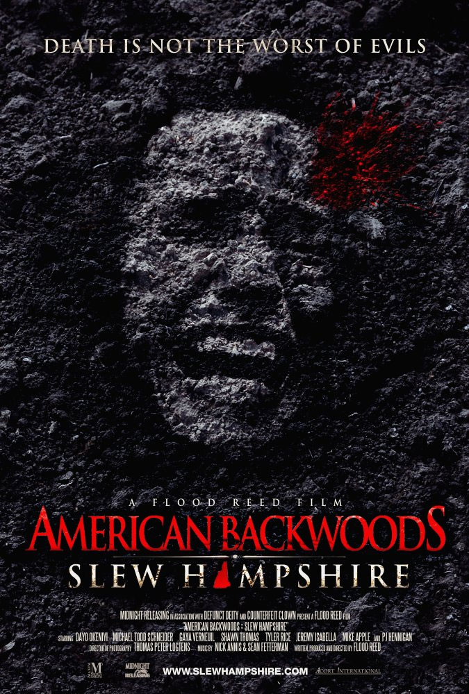 Severed Cinema review of American Backwoods: Slew Hampshire from Midnight Releasing