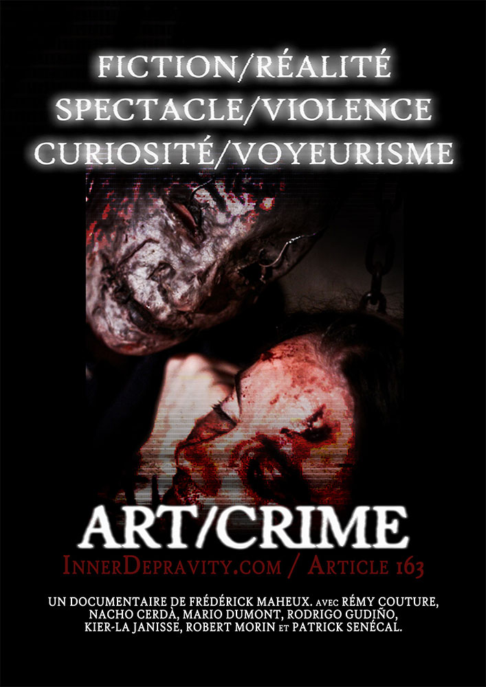 Severed Cinema of Art/Crime featuring Inner Depravity: Vol. 1 and 2 from Funfilm Distribution