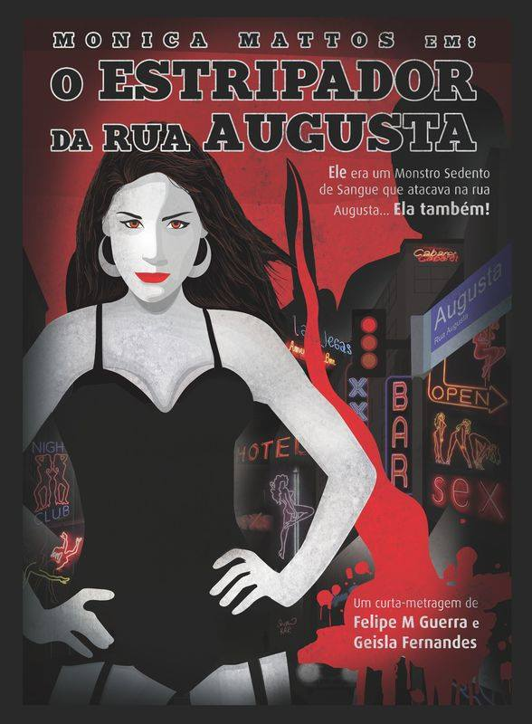 Severed Cinema review of the Brazilian horror short film The Augusta Street Ripper (O Estripador da Rua Augusta) from Barba Negra Studio