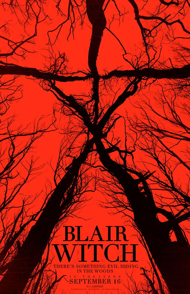 Severed Cinema review of Blair Witch from Lionsgate