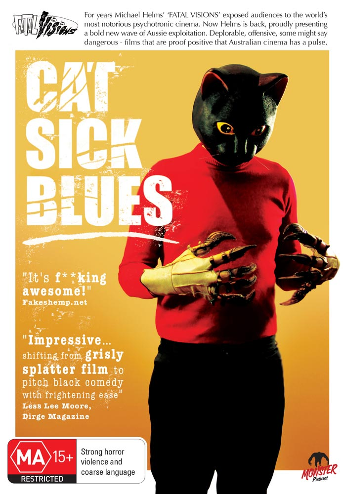 Severed Cinema review of Cat Sick Blues from Monster Pictures