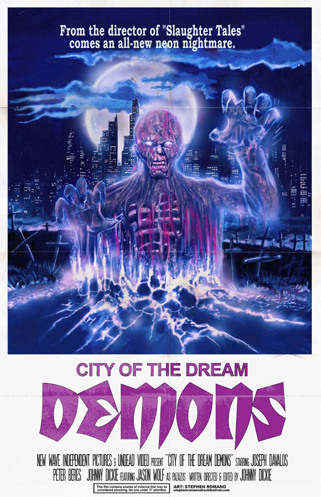 Severed Cinema review of City of the Dream Demons from New Wave Independent Pictures.