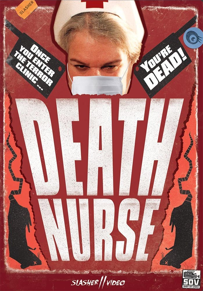 Severed Cinema reviews of Death Nurse 1 and 2 on DVD from Slasher Video