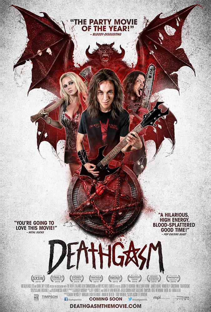 Severed Cinema review of Deathgasm from Dark Sky Films