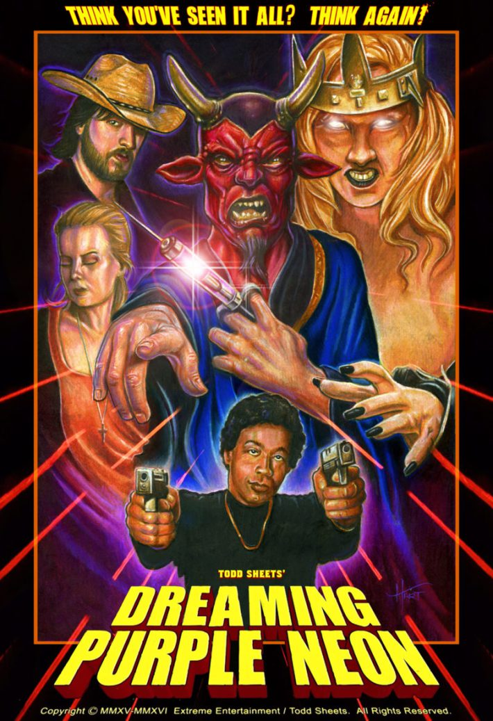 Severed Cinema review of Dreaming Purple Neon from Extreme Entertainment