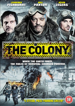 "UK Entertainment One DVD Artwork from ""The Colony"" on Severed Cinema"