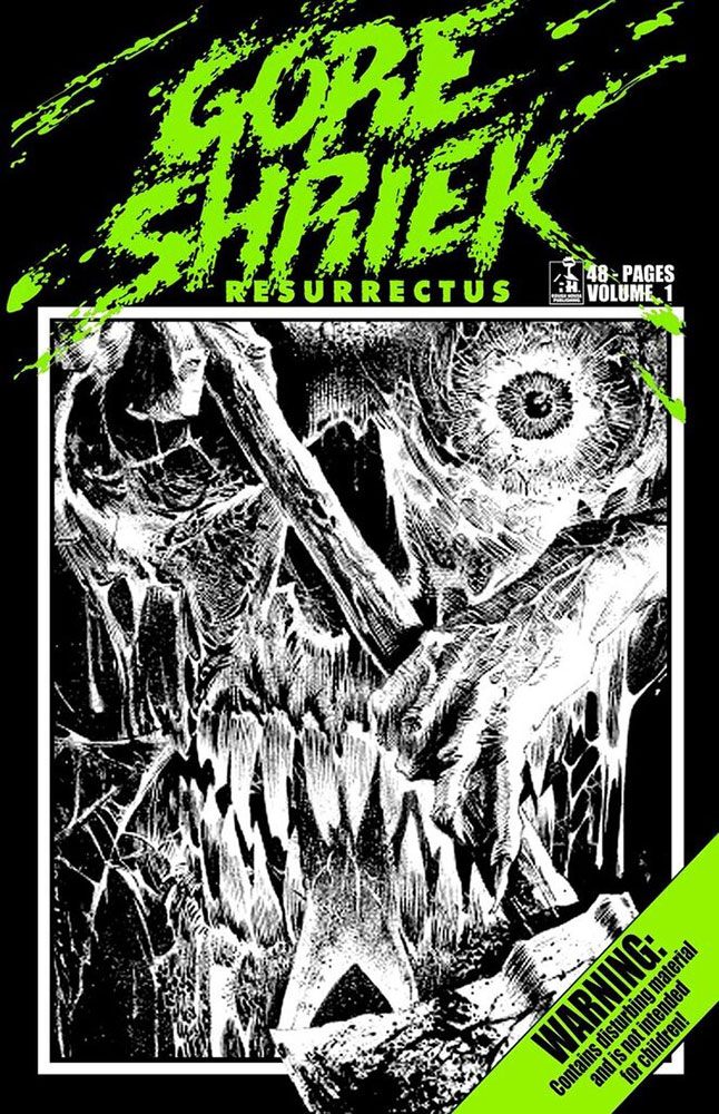Severed Cinema comic review of Gore Shriek Resurrectus Volume 1 from Rough House Publishing