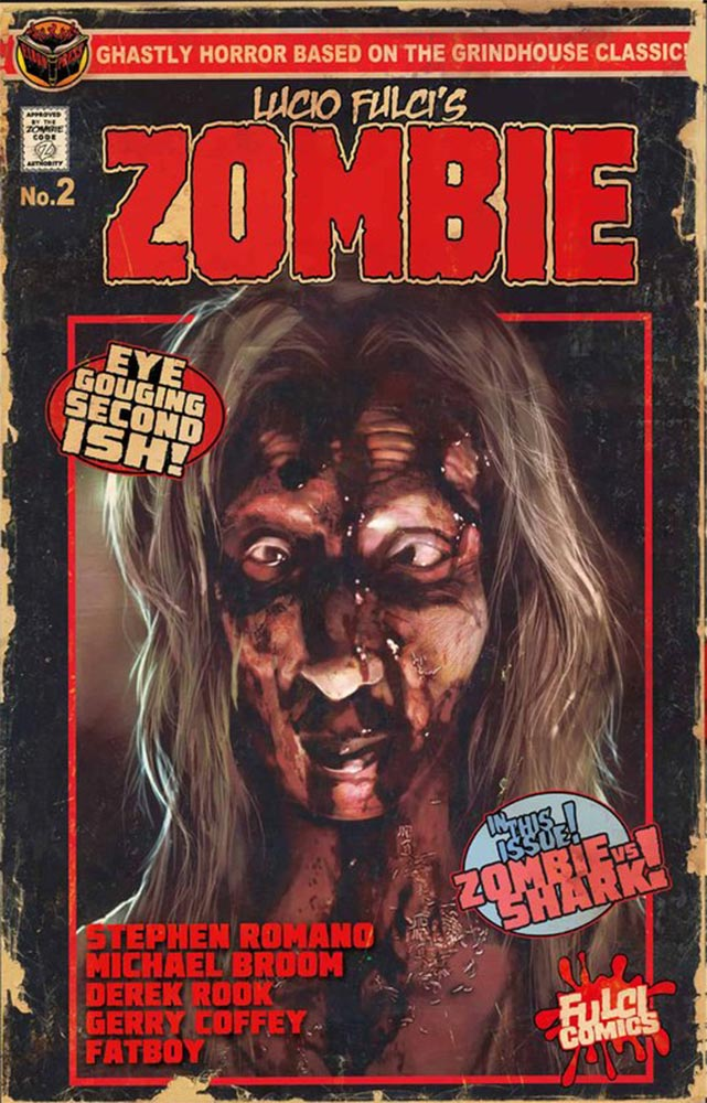 Severed Cinema Comic Book Review of Lucio Fulci's Zombie Issue Two from Eibon Press