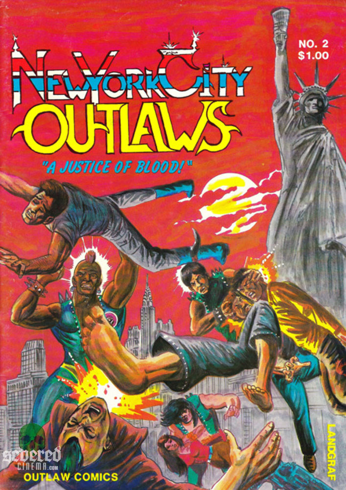 New York City Outlaws Issue 2 on Severed Cinema