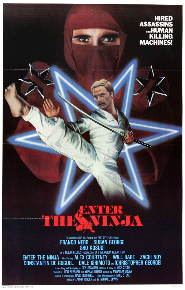 Review of Enter the Ninja from Kino Lorber on Severed Cinema