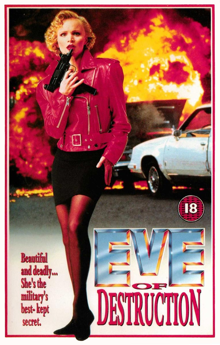 Review of the Guild Home Video VHS release of Eve of Destruction on Severed Cinema