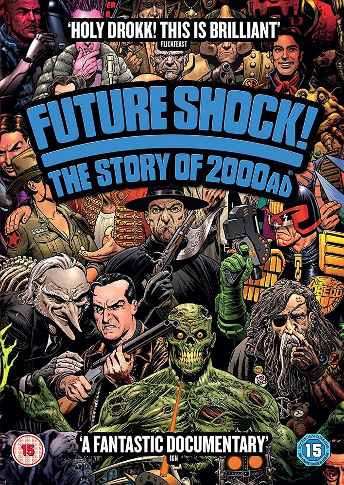 Severed Cinema review of Future Shock! The Story of 2000AD on DVD from Metrodone