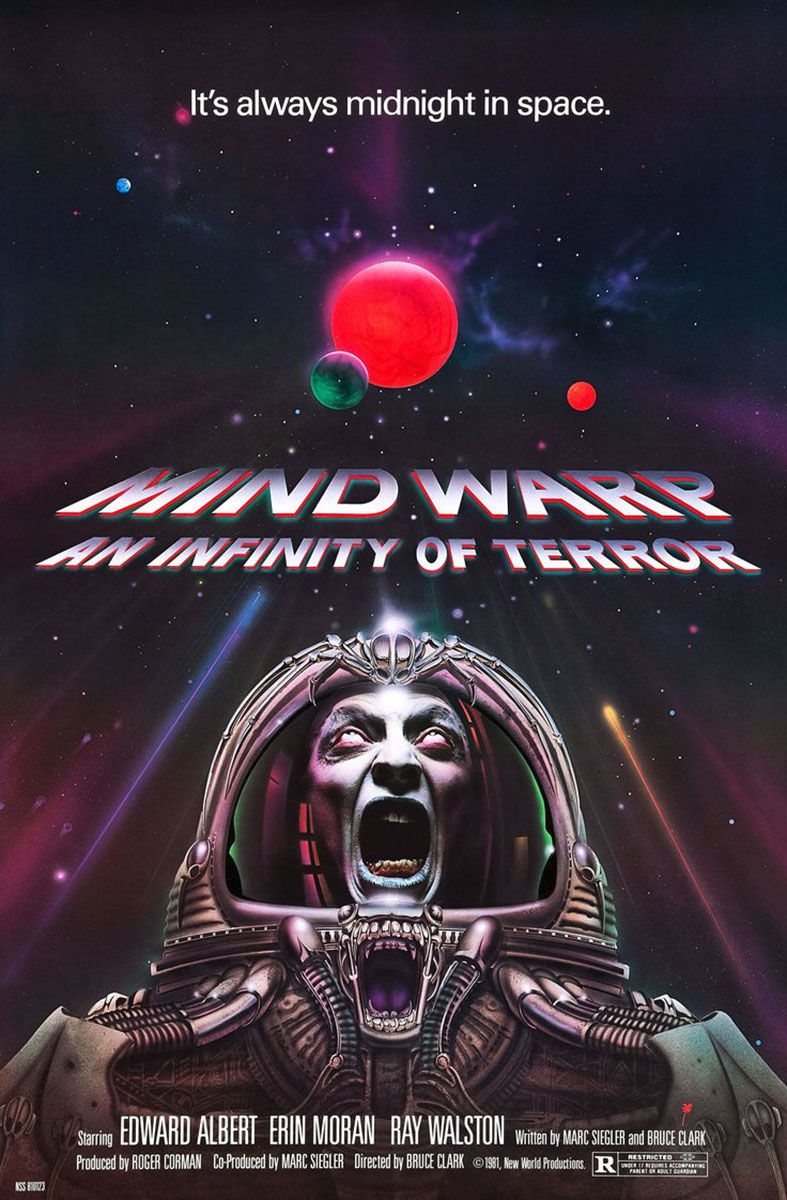 Mindwarp An Infinity of Terror Poster on Severed Cinema