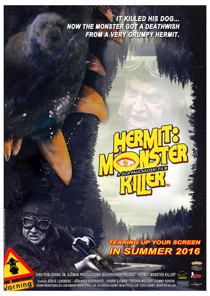 Severed Cinema review of Hermit: Monster Killer from Sjöman Production