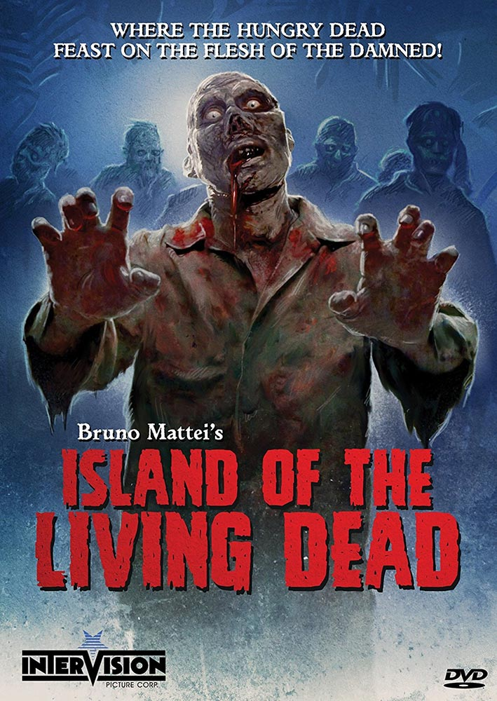 Severed Cinema review of Bruno Mattei's Island of the Living Dead on DVD from Intervision Picture Corp