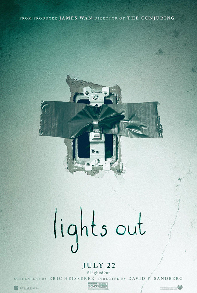 Severed Cinema review of Lights Out from Warner Bros.