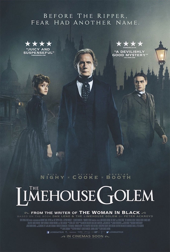 Severed Cinema Review of The Limehouse Golem from Lionsgate Home Entertainment.