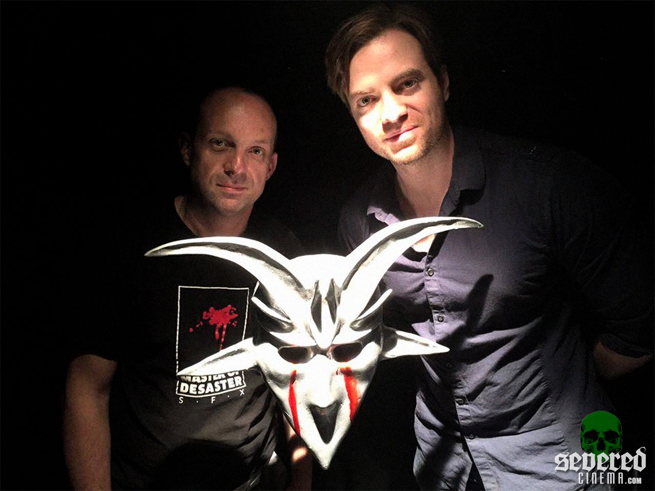 Photo of Matthan Harris from Behind the Scenes of Baphomet on Severed Cinema