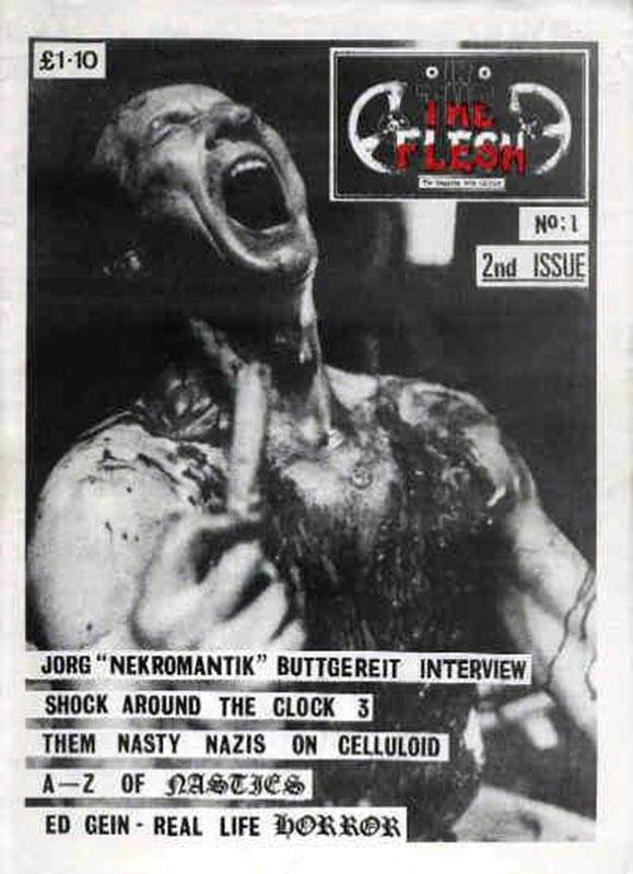 Severed Cinema Magazine review of Issue 1-11 of In the Flesh Magazine from Garageland.