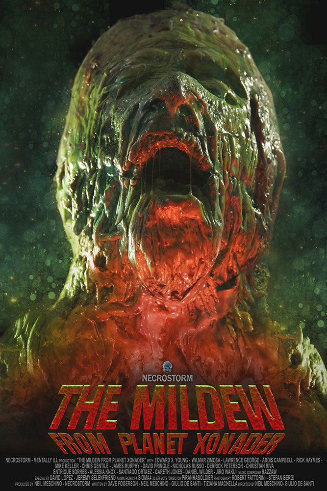 Severed Cinema review of the Collector's Edition DVD of The Mildew from Planet Xonader from Necrostorm.