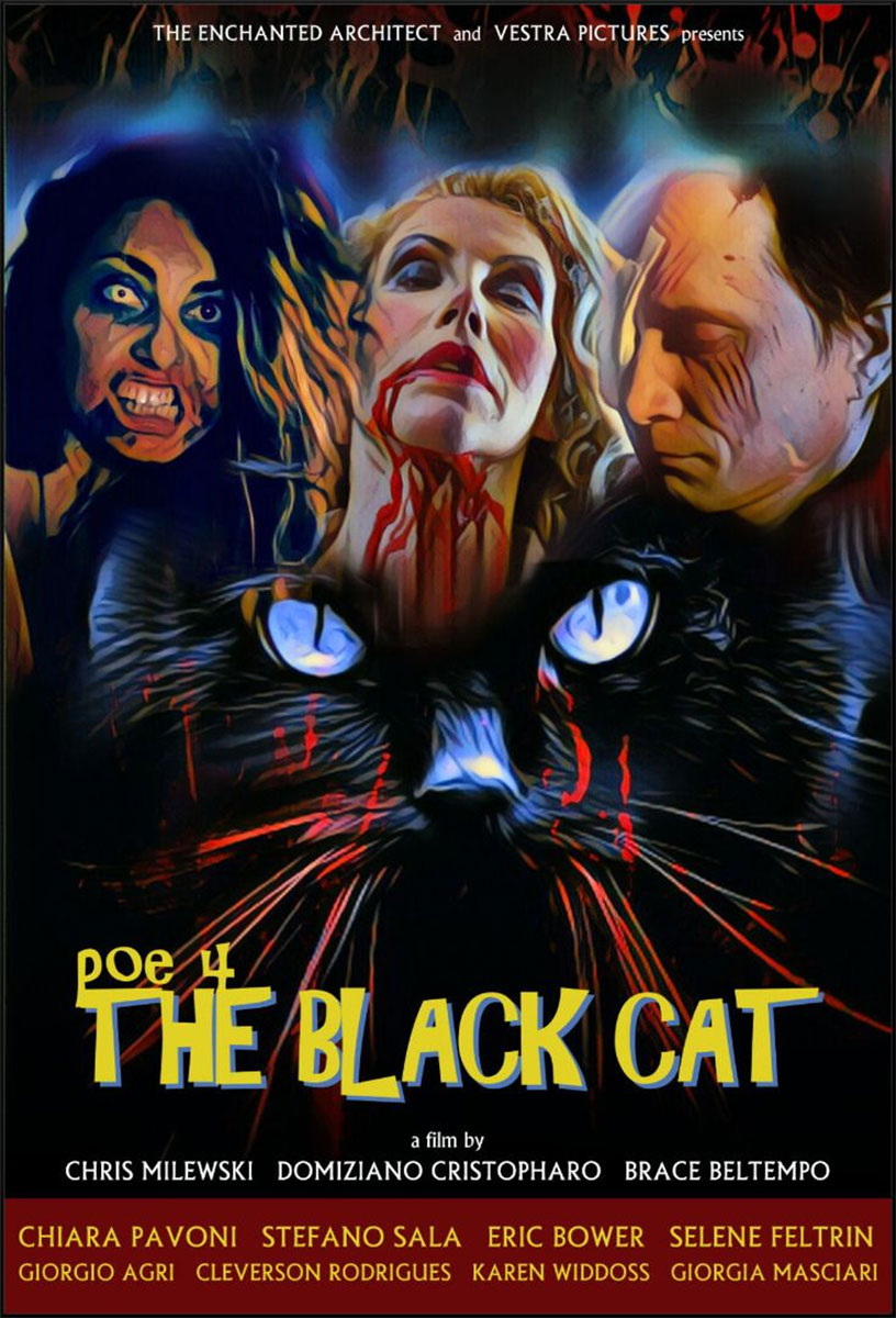 Review of POE 4: The Black Cat from The Enchanted Architect on Severed Cinema