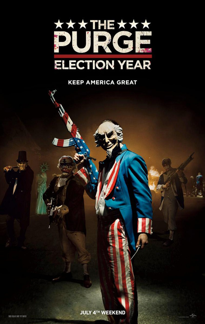 Severed Cinema review of The Purge: Election Year from Universal Pictures