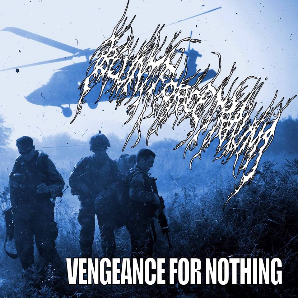 Severed Cinema music review of Blunt Force Trauma's Vengeance For Nothing album from Macabre Mementos Records