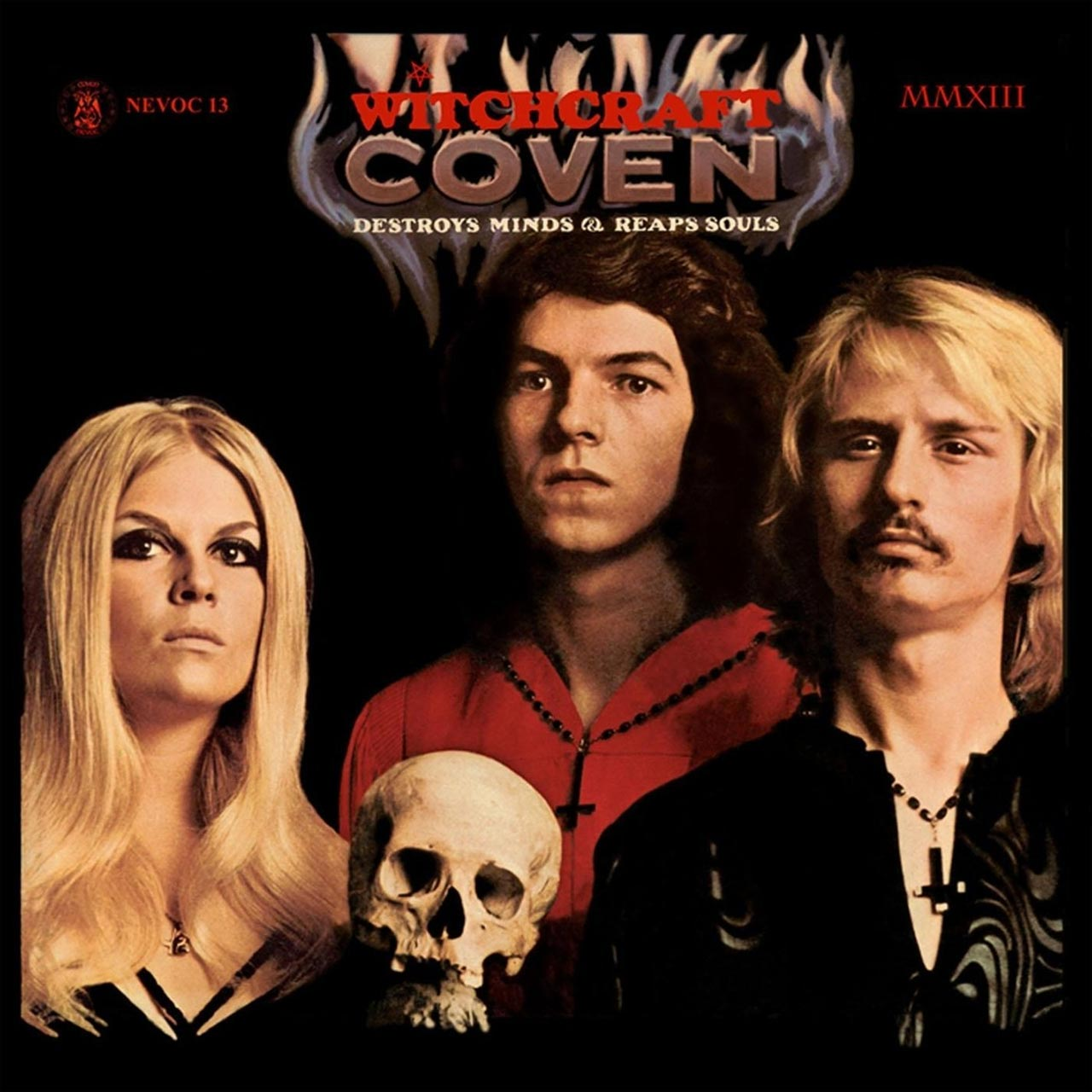 Music Review: Coven - Witchcraft Destroys Minds and Reaps Souls - Akarma