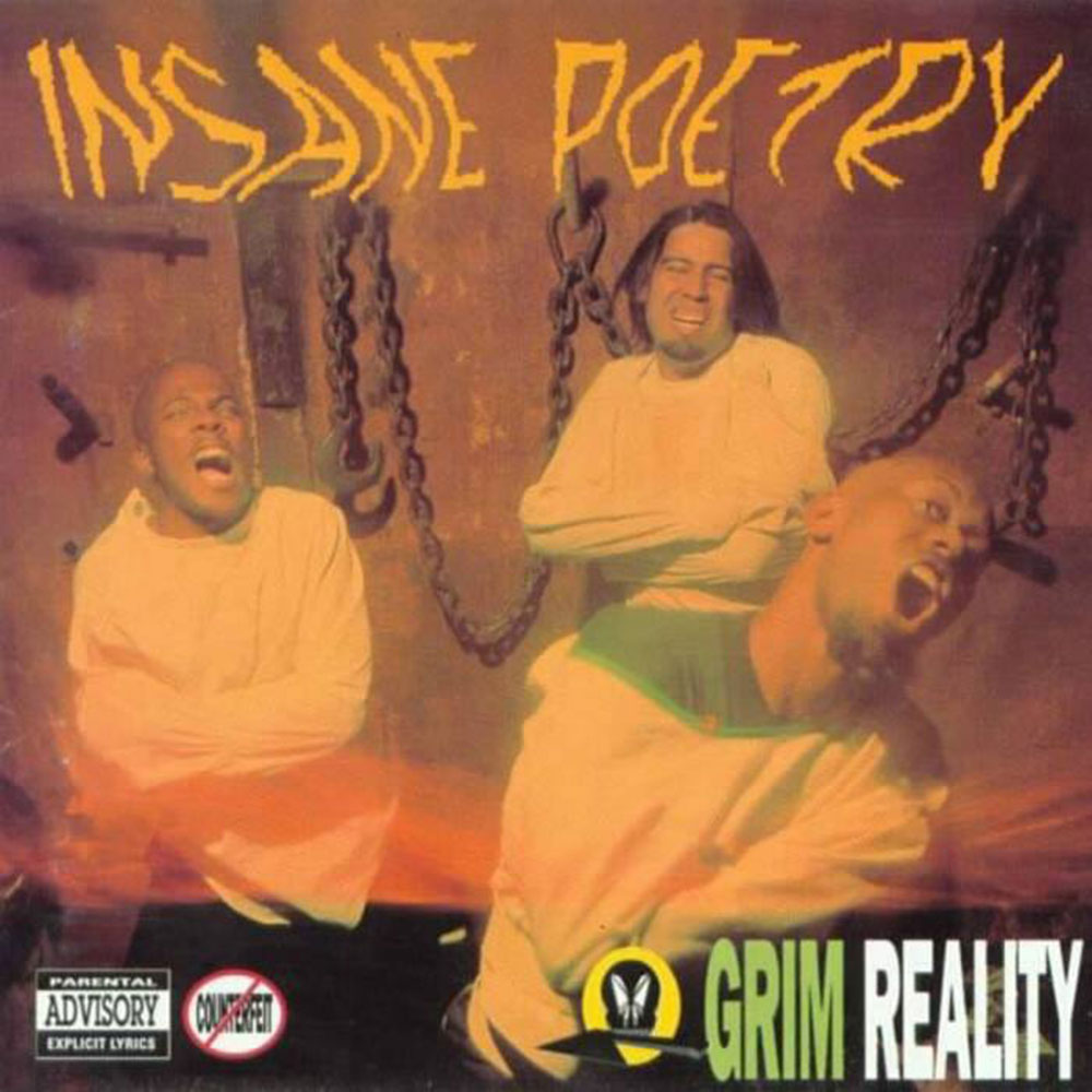 Music review of the Insane Poetry Album Grim Reality on Severed Cinema