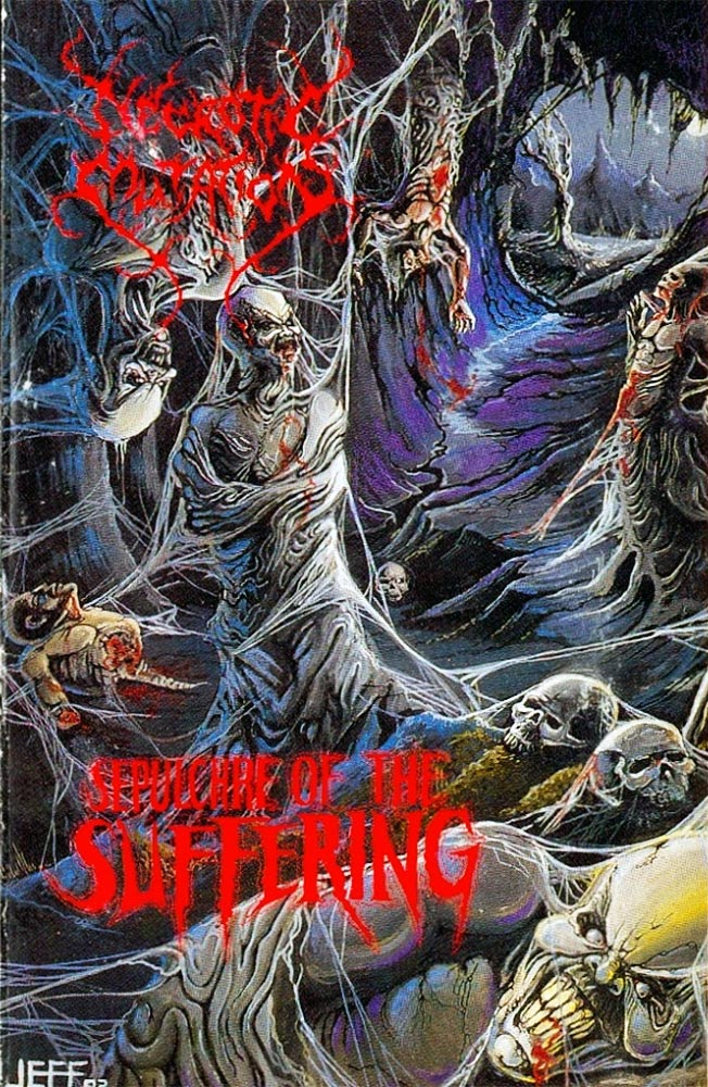 Severed Cinema music review of the demo tape Sepulchre of the Suffering from Necrotic Mutation