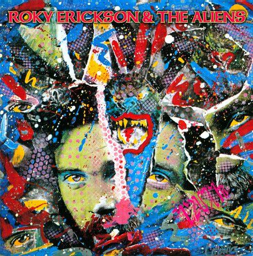 Severed Cinema music review of the Roky Erickson album Roky Erickson & The Aliens from Cherry Red Records/ Mojo.