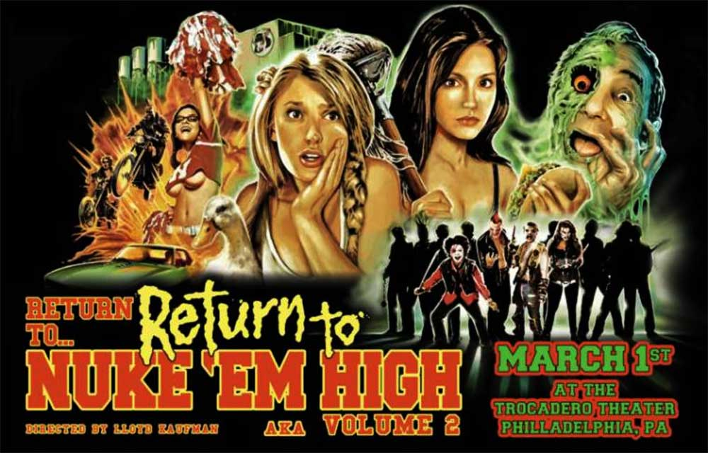 Severed Cinema News: Return to Nuke 'Em High Volume 2 to Celebrate Troma's Long Life!