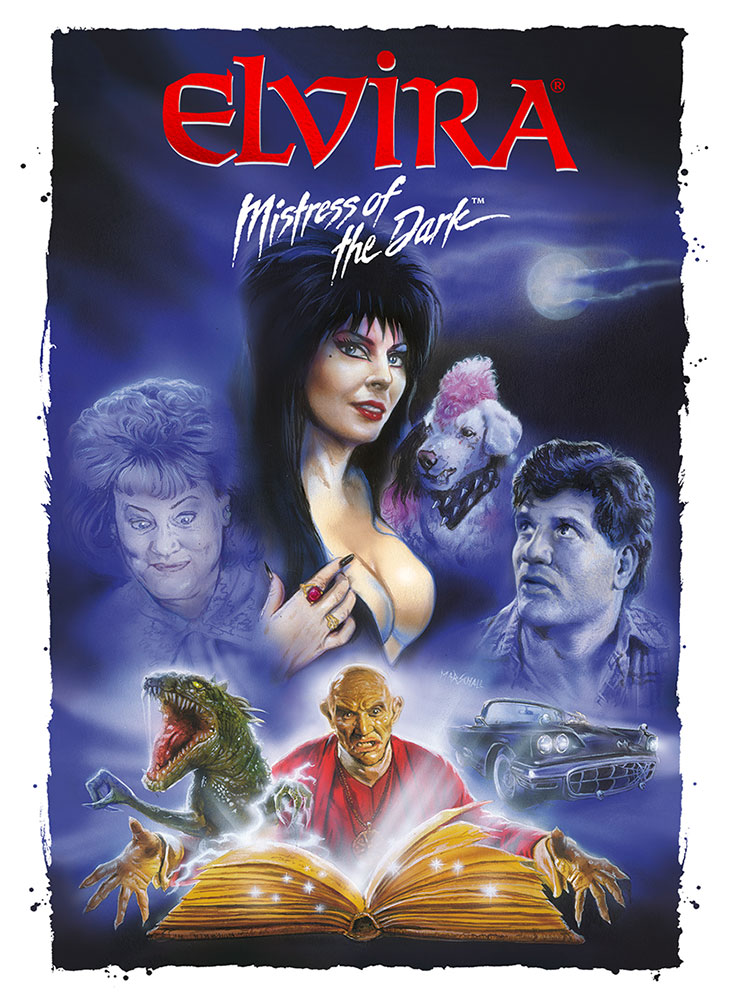 Severed Cinema News: Elvira Mistress of the Dark Busts Out on Blu-ray April 24th, 2017!