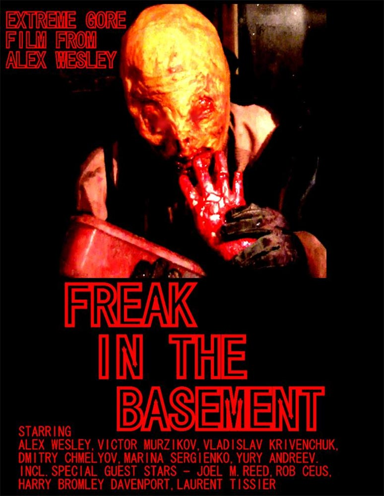 Freak in the Basement: Extreme Gore Out Now!