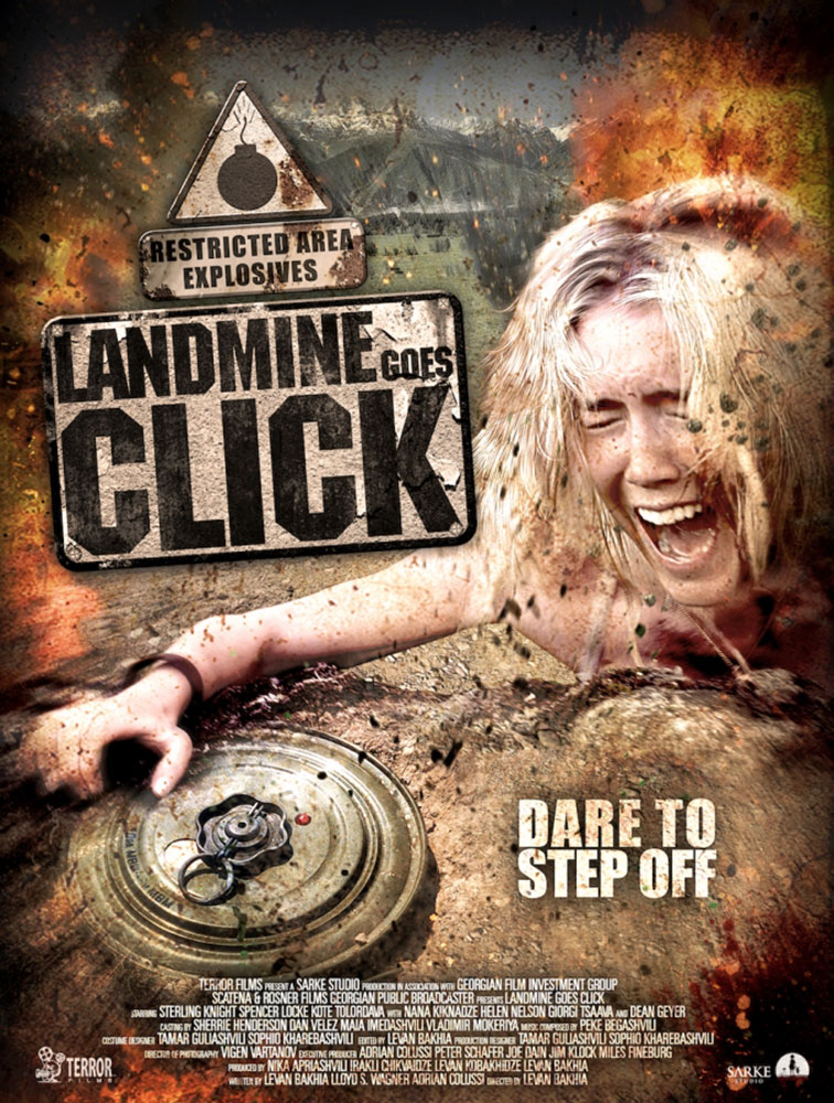 Severed Cinema News: Terror Films Announces First DVD Release Date For Landmine Goes Click.