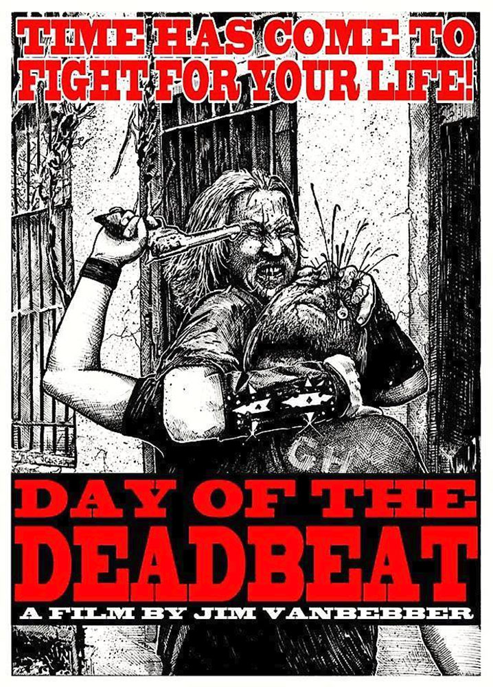 Day of the Deadbeat Promo Art