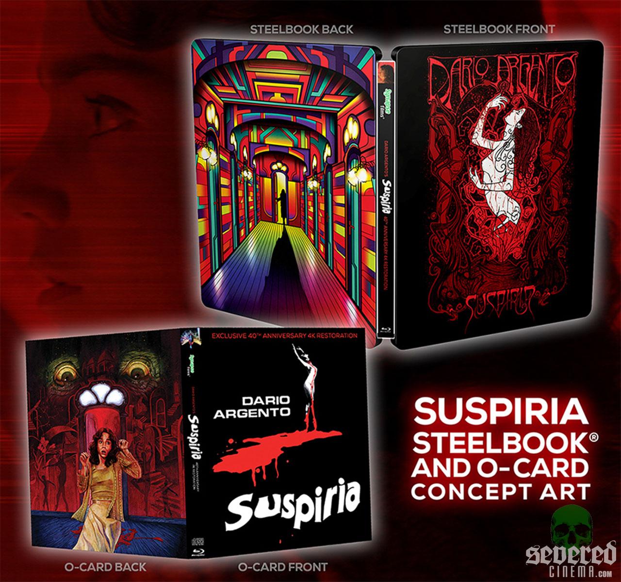 Severed Cinema News: Suspiria's 40th Anniversary via Synapse!