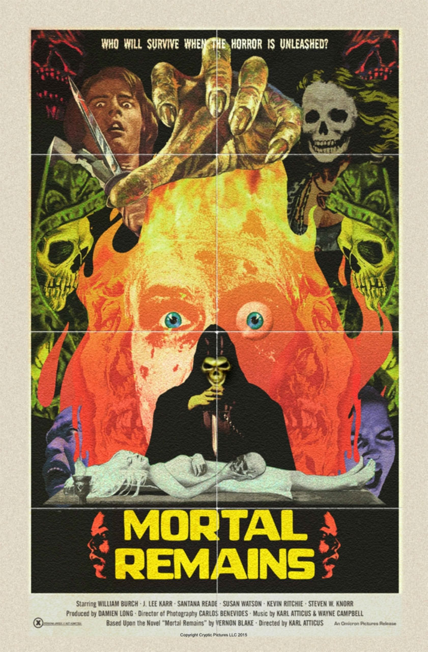 Severed Cinema News: The Mortal Remains of Karl Finally Arrives In October!