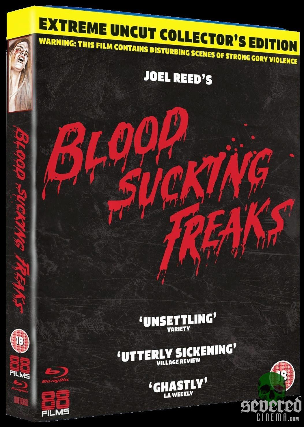 Blood Sucking Freaks Blu-ray from 88 Films on Severed Cinema