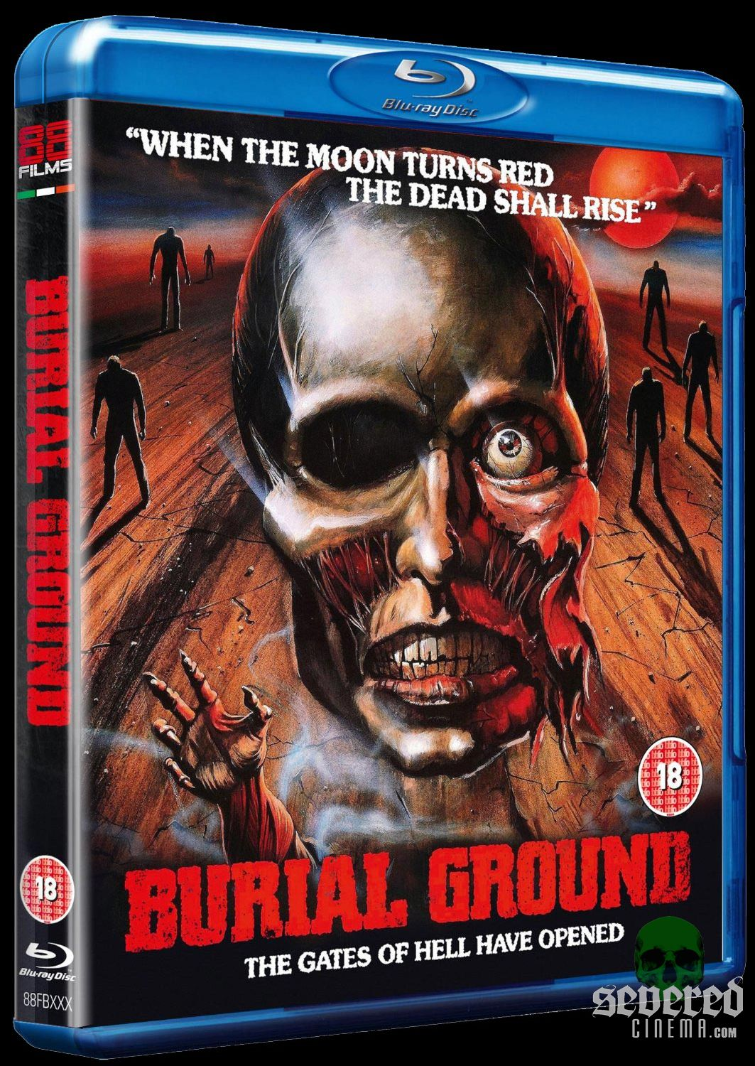 Burial Ground Blu-ray from 88 Films on Severed Cinema