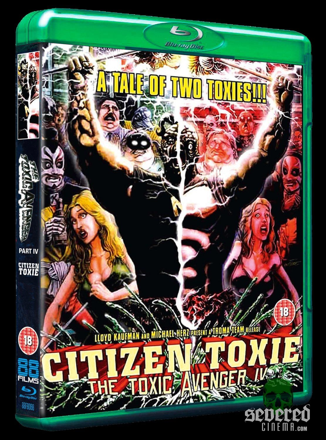 Citizen Toxie Blu-ray from 88 Films on Severed Cinema
