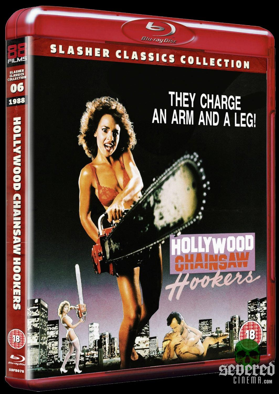 Hollywood Chainsaw Hookers on Blu-ray from 88 Films on Severed Cinema