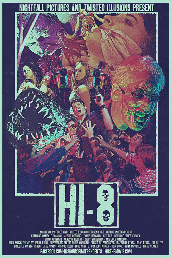 """Hi-8"" Movie Poster on Severed Cinema"