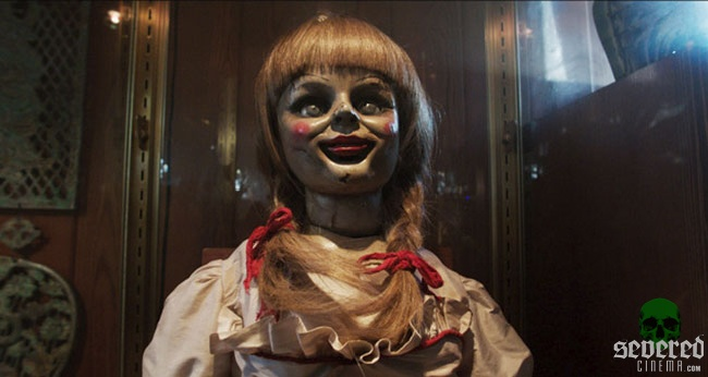 Annabelle doll on Severed Cinema