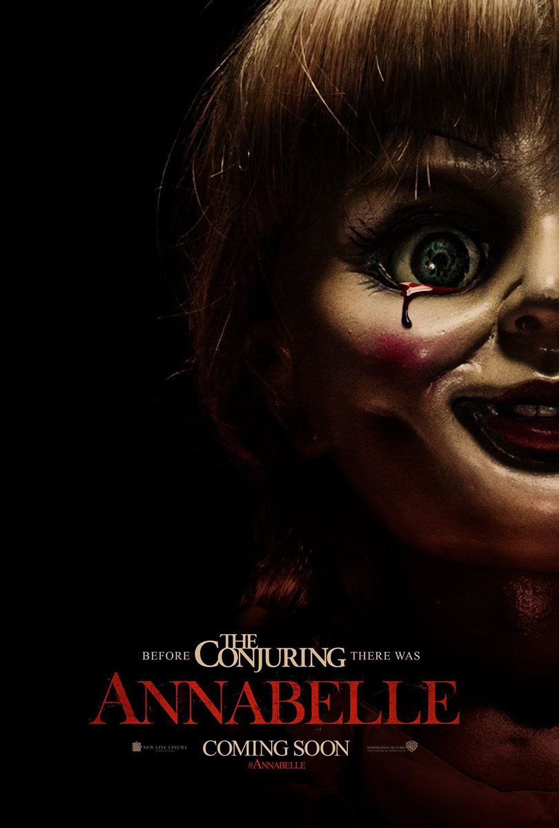 Annabelle Movie Poster on Severed Cinema
