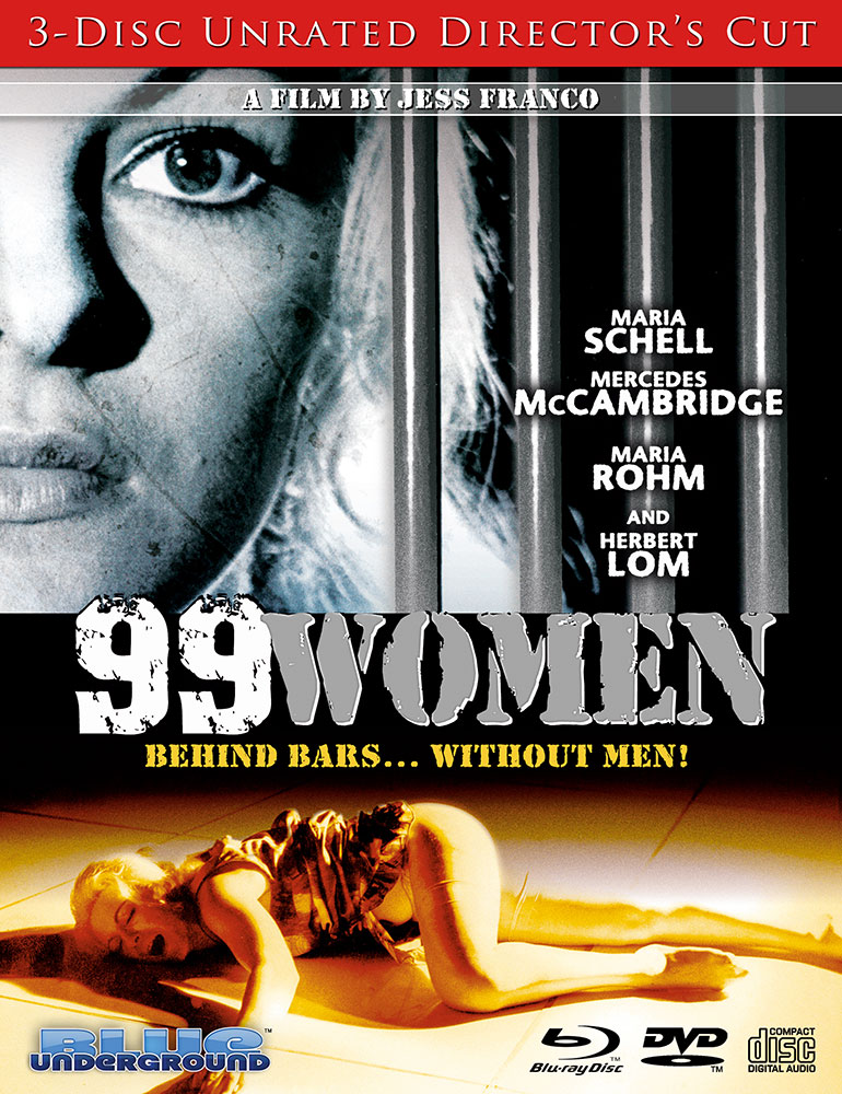 99 Women 3-Disc Director's Cut on Severed Cinema