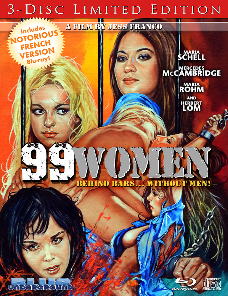 99 Women 3-Disc Limited Edition on Severed Cinema