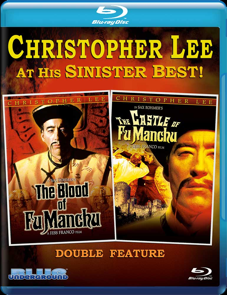 Severed Cinema News: The Blood of Fu Manchu and The Castle of Fu Manchu Coming Soon to Blu-ray from Blue Underground!
