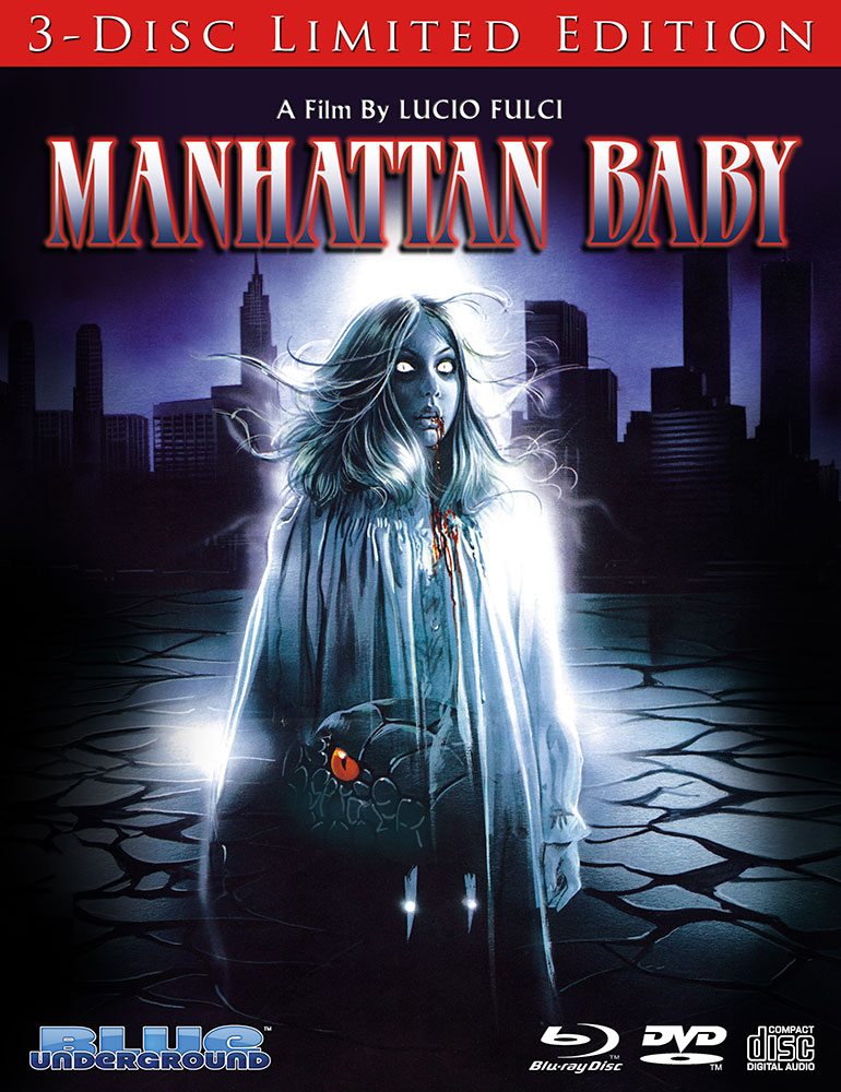 Lucio Fulci's Manhattan Baby Out Now on 3-Disc Limited Edition From Blue Underground!